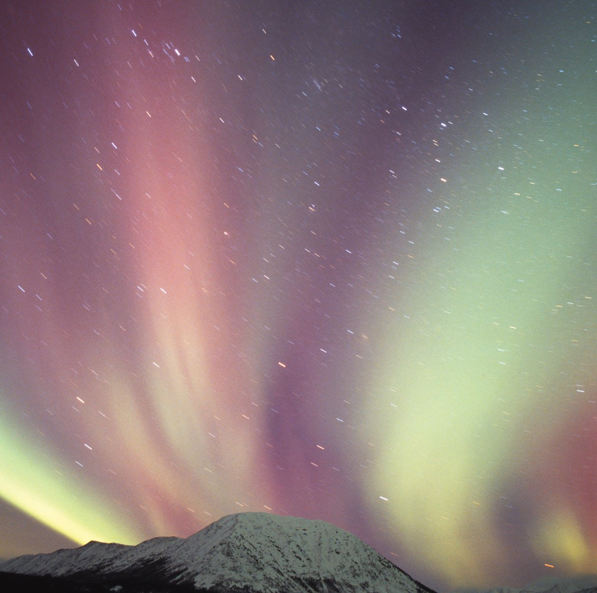 JP London SQM2022PS Peel and Stick Removable Wall Decal Sticker Mural Aurora Borealis Northern Lights At 6' High By 6' Wide by JP London