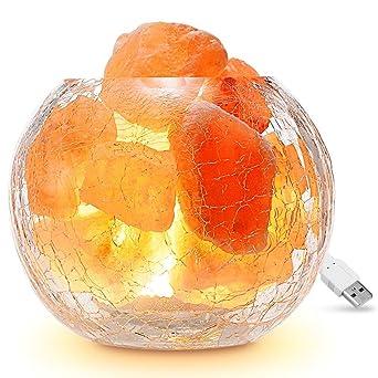 Salzkristalllampe / Salzlampe, Famirosa Himalaya Salzlampe dimmbar ...