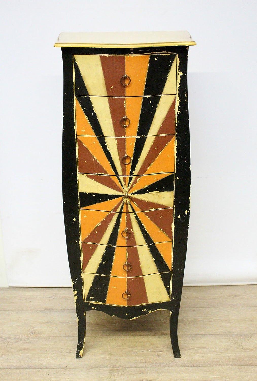 Kommode Schrank Schubladenschrank Retro Massiv Shabby Vintage Barock 150cm