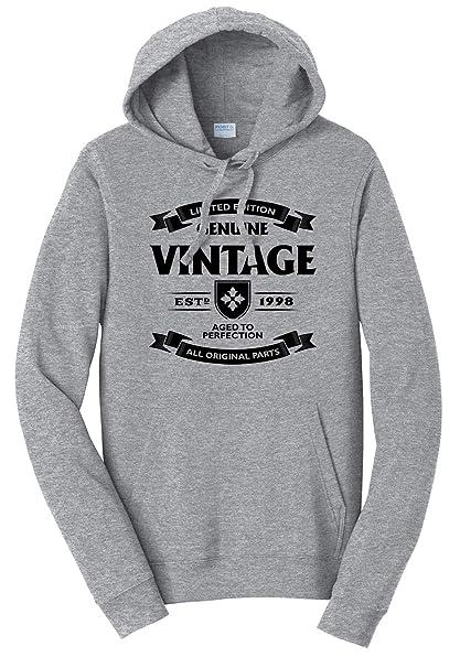 1998 Hooded Sweatshirt Tenacitee Girls Aged to Perfection