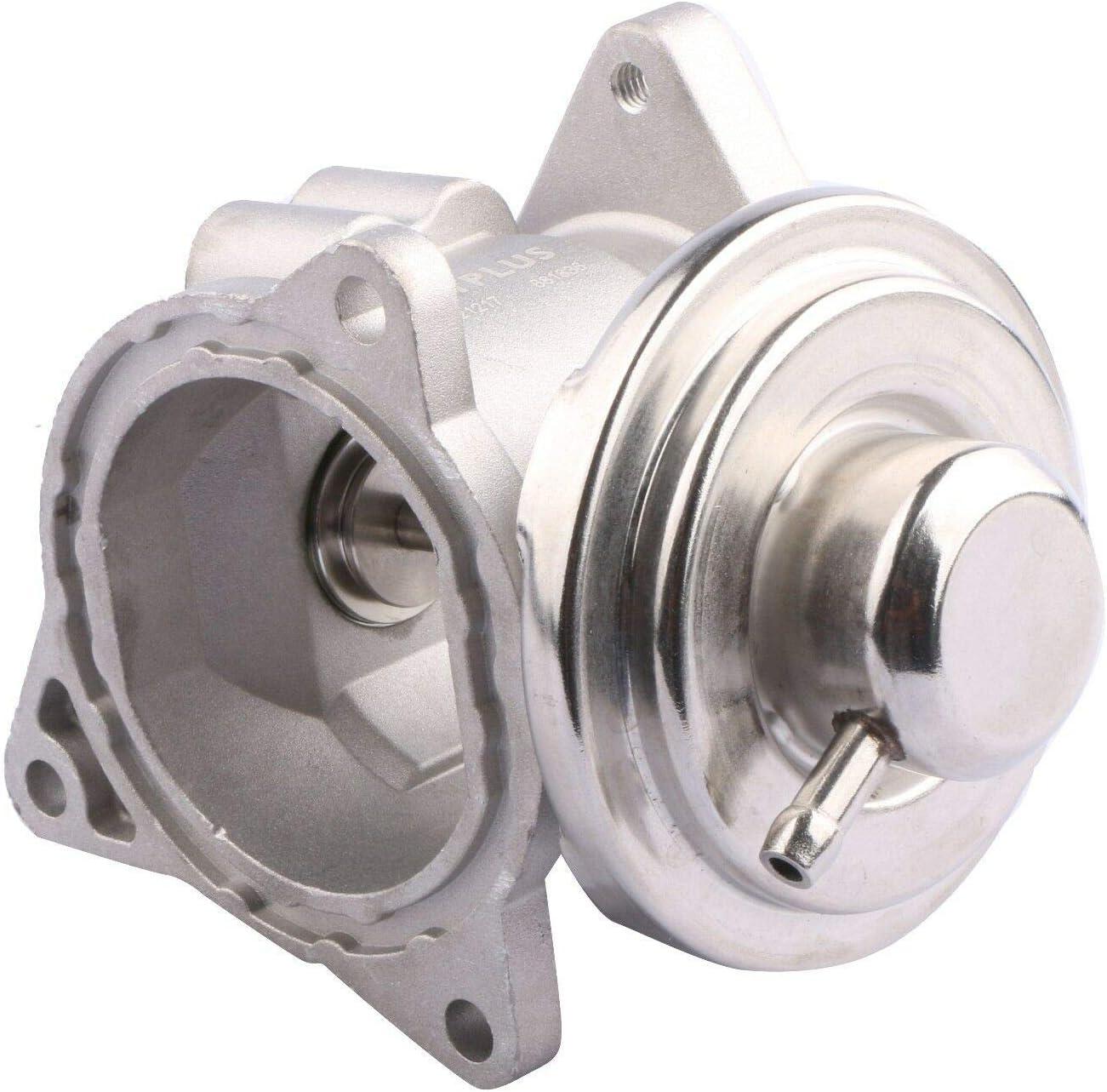 MOSTPLUS 038129637D 038131501AF Válvula EGR compatible con A3 Altea Leon Fabia Ibiza Polo Golf Bora Jetta 1.9 2.0TDI
