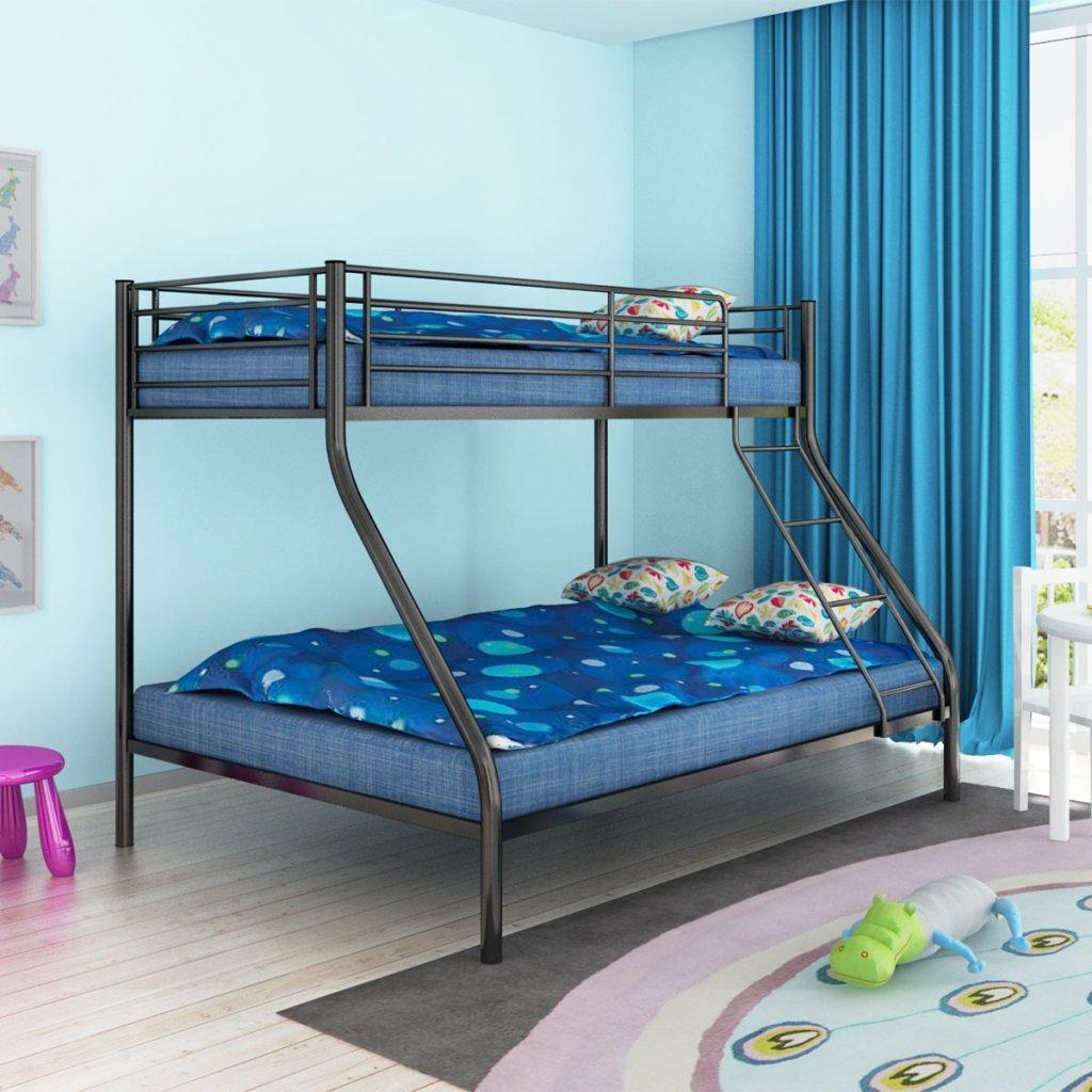 Amazon.de: Festnight Kinder Etagenbett Doppelstockbett Metall ...