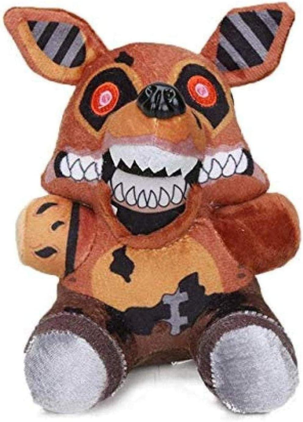 FNAF Freddy Fazbear Peluches Cinco Noches en Freddy s Golden Bear Nightmare Cupcake Foxy Balloon Boy Payaso Muñecos de Peluche 18cm Nueva Foxy Decoración del hogar
