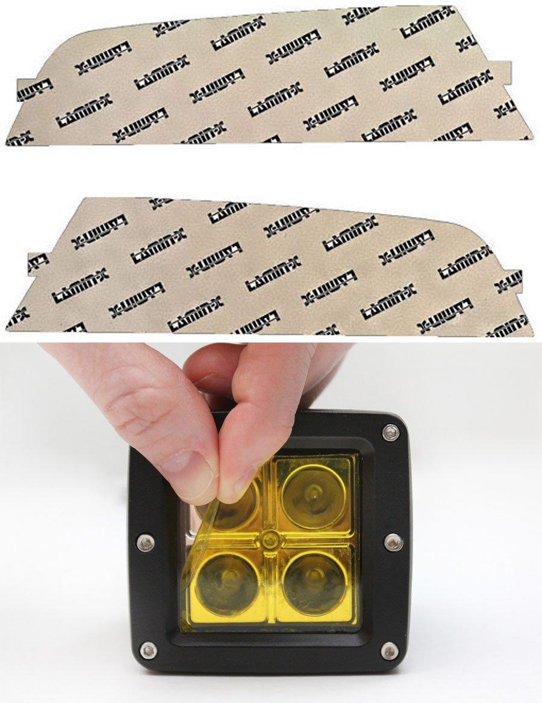 Lamin-x F149Y Yellow Fog Light Film Covers