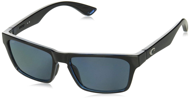 Direct HNO11OGP Costa Black//Grey Hinano 580P Sunglasses Shiny Black//Gray 580Plastic Pro-Motion Distributing
