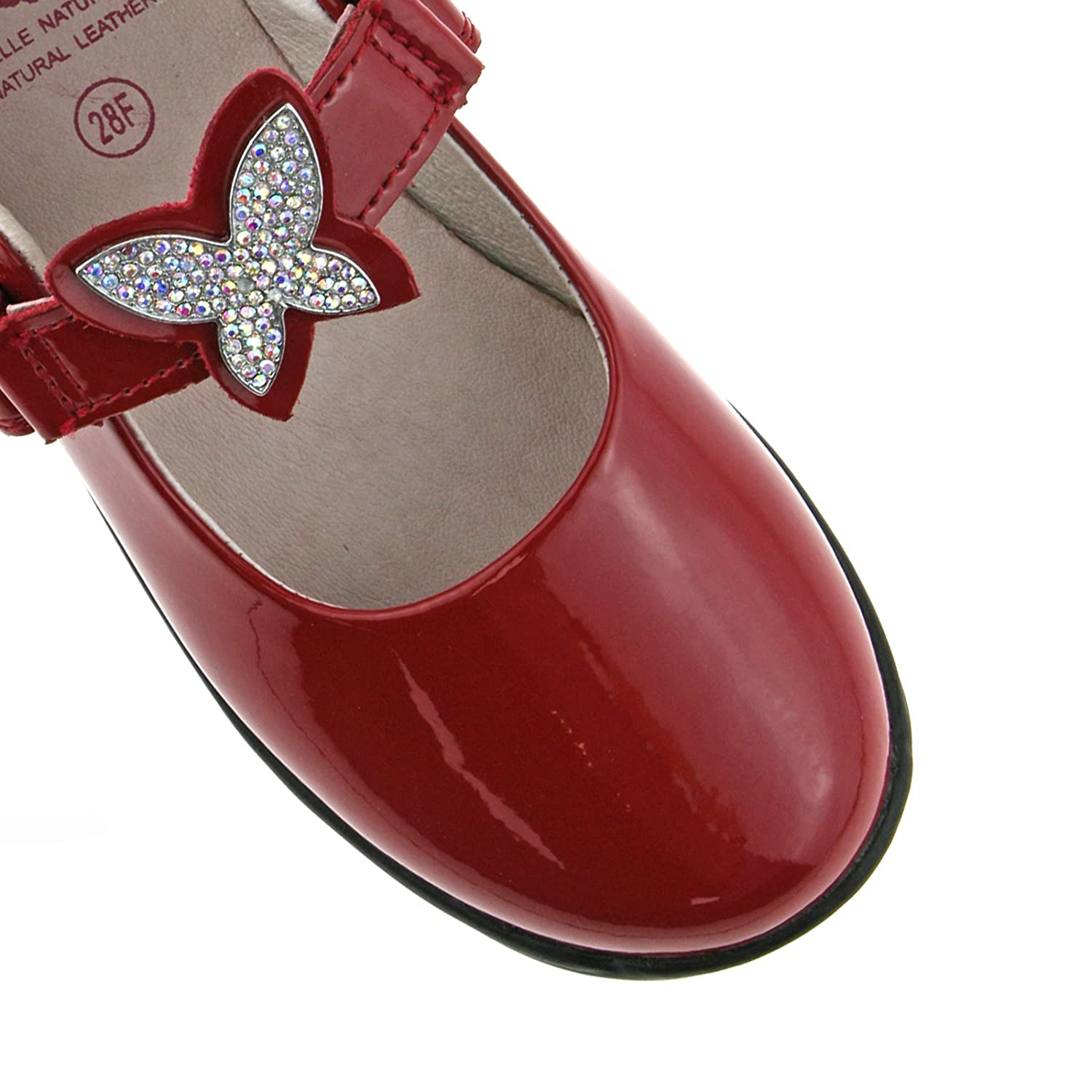 Lelli Kelly LK8305 (DD01) Angel Red Patent School Shoes F Fitting-31 (UK  12.5): Amazon.co.uk: Shoes & Bags