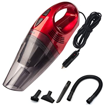 Trehai Car Vacuum Cleaner DC 12V 120W Wet Dry High Powerful 3500pa Suction Portable