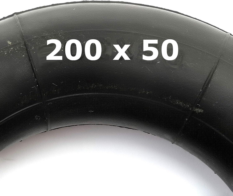 Inner Tube 200x50 Bent Valve Fits Pushchair Pram Stroller 200 x 50 8x2 Tyre
