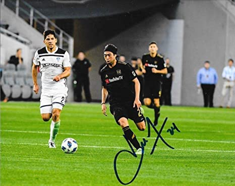4dff58c45 Image Unavailable. Image not available for. Color  Autographed Lee Nguyen  Photo - Club LAFC 8x10 MLS ...