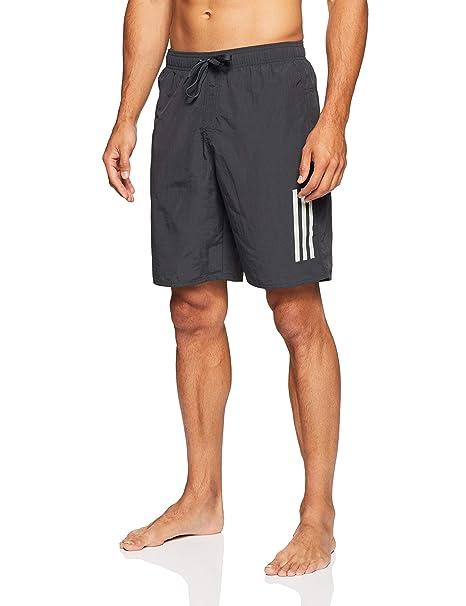 b509e10d49 adidas 3 Stripes ClimaLite Costume da Bagno da Uomo, Uomo, DJ2153 ...