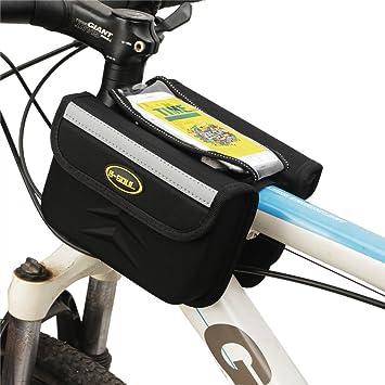 Bolsa Bicicleta Bolsa de marco de bicicleta, bolsa de ...