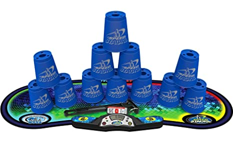 amazon com sport stacking competitor blue cup stacking