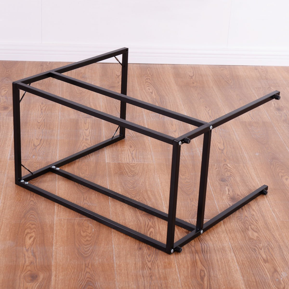 SKEMiDEX---Coffee Tray Side Sofa End Table Ottoman Couch Stand TV Lap Snack W/Glass Top New. Can be used as end tables, lamp tables, decorative displays tables, or simply accent pieces by SKEMiDEX (Image #8)