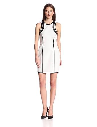 camilla and marc Women's Recursion Dress, Black/White, 10