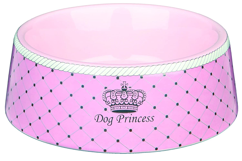 Trixie Dog Princess Ecuelle en Céramique pour Chien Rose Diamètre 16 cm 0, 45 L 4047974245828