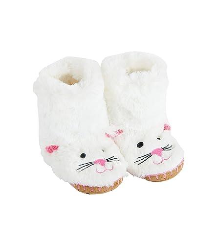 hatley Kids Slouch SL3CACA001 - Zapatillas de estar por casa de sintético para niña: Amazon.es: Zapatos y complementos