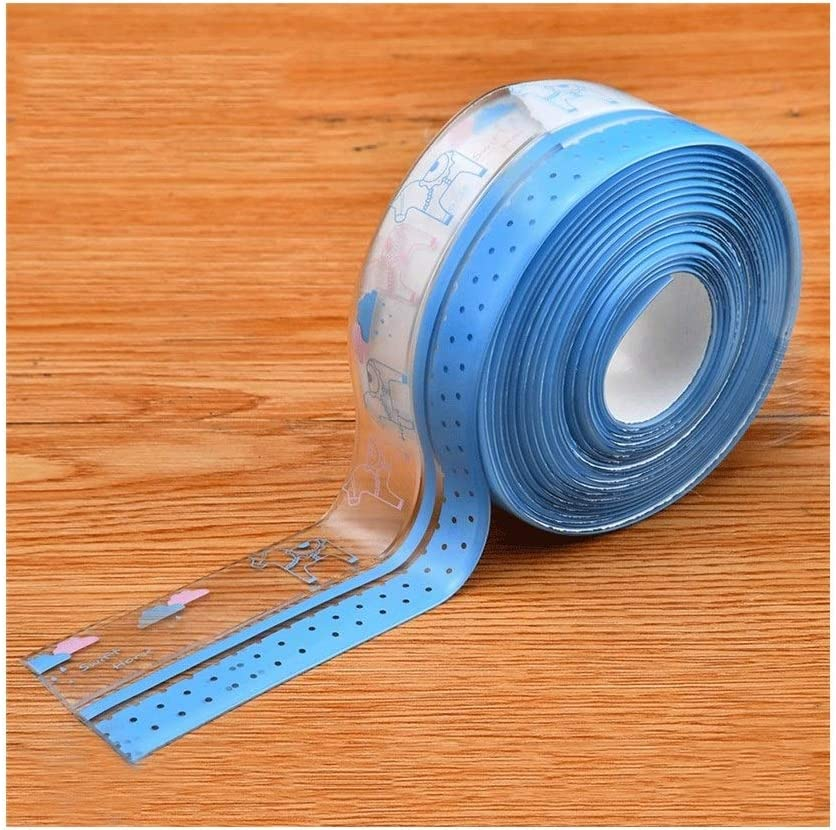 Color : #5 HUQUAN Kitchen Transparent Mildew Waterproof Tape Moisture-Proof Sink Sticker Gap Toilet Beauty Seam Wall Corner Window Seal
