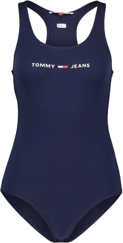Tommy Jeans DW0DW08004 Strap Bodysuit Top E Body Donna