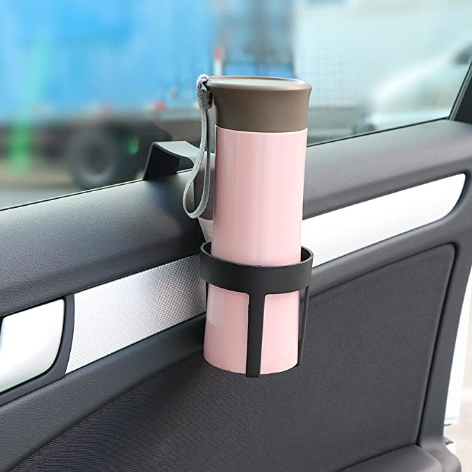 WOVELOT Auto-Flaschen-Getraenk-Halter-Wasser-Becher-Halter-haengender Halter Fuer Auto-LKW-Innenfenster-Auto-Innenzubehoer