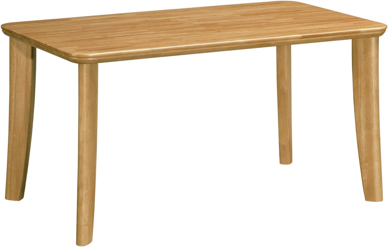 カリモク正規品 イニングテーブル メローナチュラル DT8111NNK