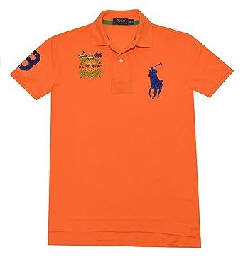 Polo Fit Big Custom Crest Lauren Pony Men's Ralph 67vYgfyb