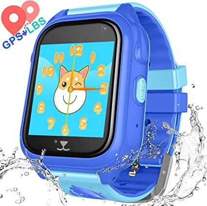 Amazon.com: Reloj inteligente impermeable para niños con ...