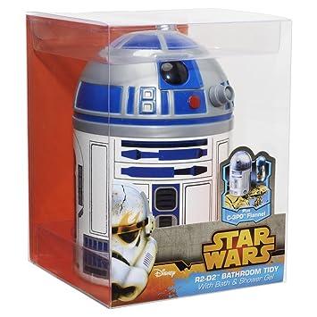 Figura R2D2 champu toalla Star Wars Disney: Amazon.es: Oficina y papelería