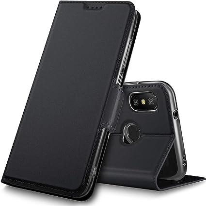 Geemai Xiaomi Mi A2 Lite Funda, Protectora PU Funda para Xiaomi Mi ...