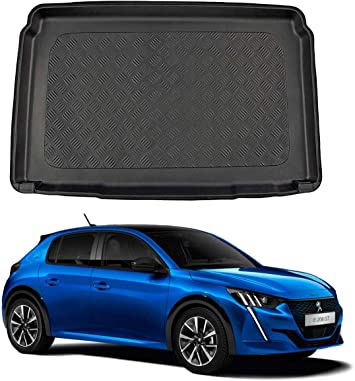 Nomad Auto Tailored Fit Durable Black Boot Liner Tray Mat Protector for Peugeot 3008 2017 on