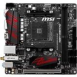 MSI B450I Gaming Plus AC - Placa Base Gaming (AM4, AMD B450, 1 x PCI-E 3.0 x16, DDR4 3466+, HDMI, 4 x SATA 6 GB/s)