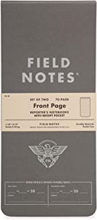 "product image for Field Notes - Front Page 2-Pack of Reporter's Notebooks - 3.75"" x 8"""
