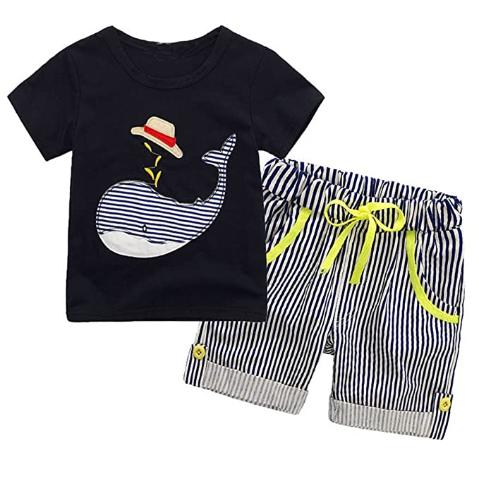 95a603d2e8a1 Amazon.com  daqinghjxg 2018 New Kids Boys Clothes Children Clothing ...