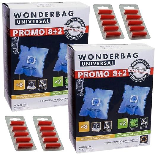 Wonderbag Original & Mint - Bolsas de polvo para aspiradora ...
