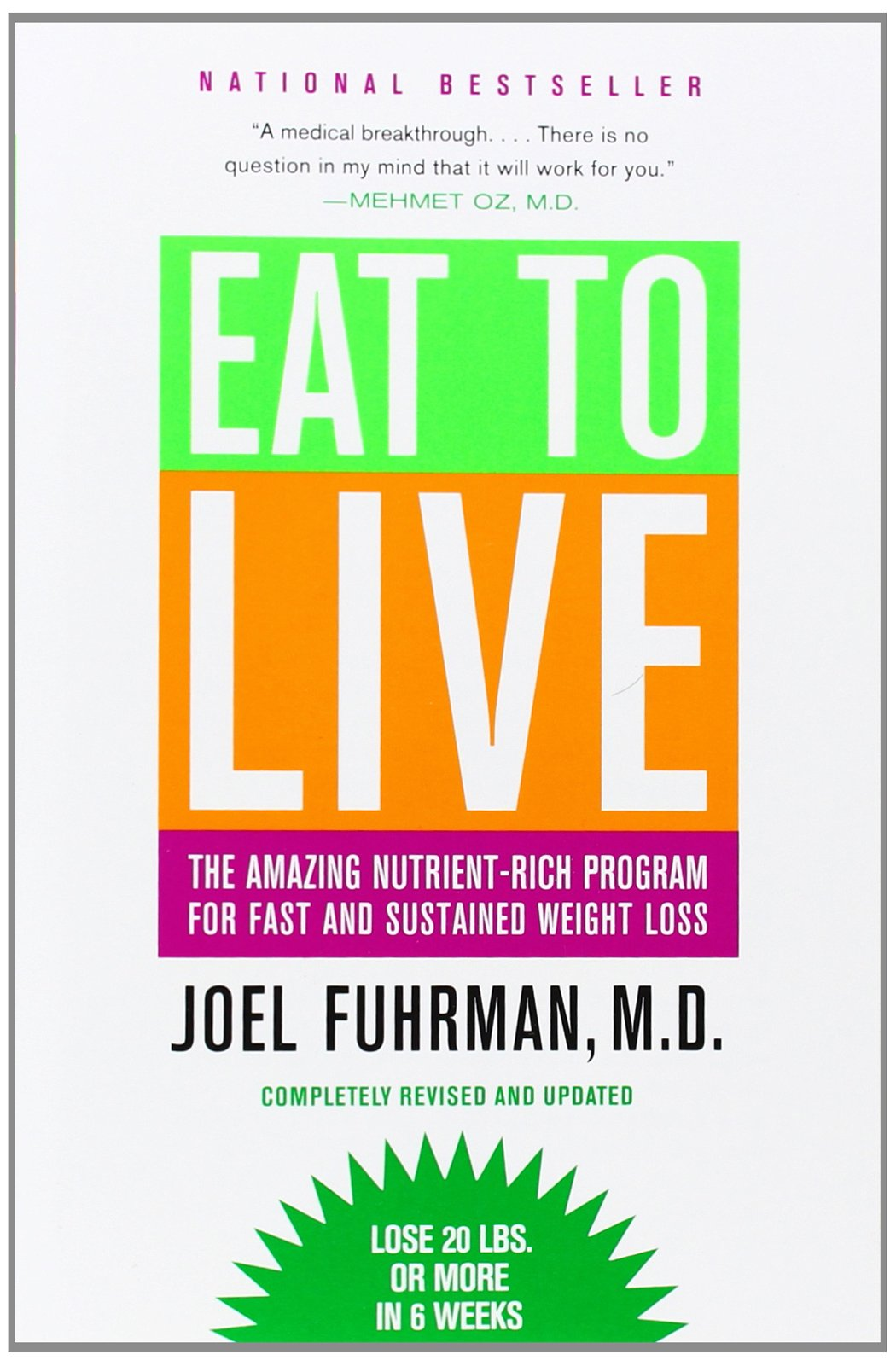 Eat To Live The Amazing Nutrient Rich Program For Fast And