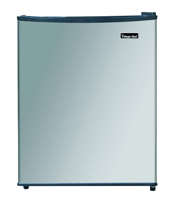 Magic Chef MCAR240SE2 Energy Star Stainless Steel Door 2.4 Cu. Ft. Mini All-Refrigerator