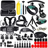 61 in 1 Action Camera Accessories Kit for GoPro Hero 9 8 7 6 5 4 Hero Session 5 Black Insta360 SJ4000 5000 6000 Xiaomi Yi DJI
