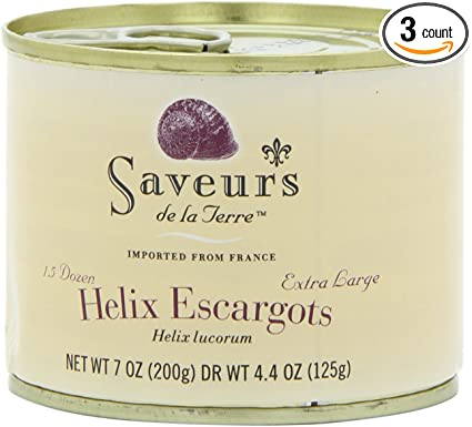 Saveurs de la Terre (Canned Escargots from France)