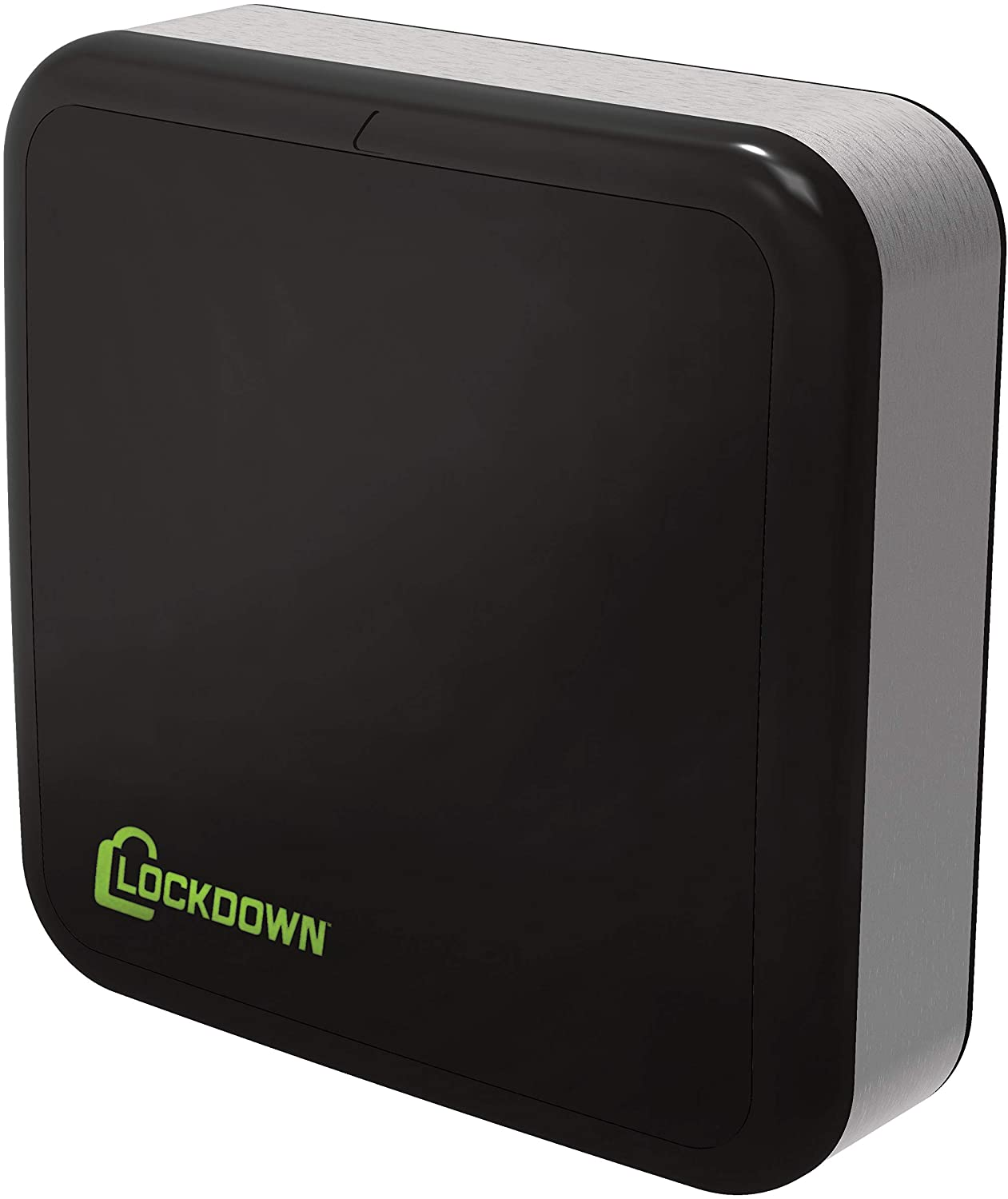 LOCKDOWN Puck Monitoring System with WiFi, Free App, Door Sensor, Motion and Temperature Detection and Easy Install for Vault, House and Room Security