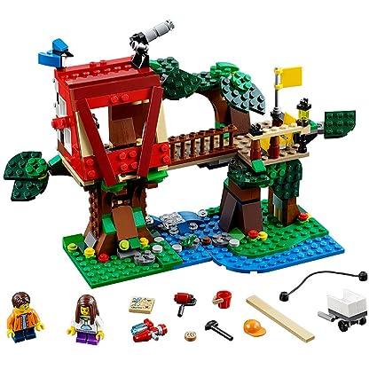 Amazon.com: LEGO Creator Treehouse Adventures 31053 Building Toy ...