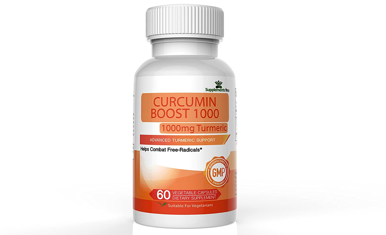 SupplementsYou - Curcumina Boost 1000 Suplemento Avanzado- 60 Cápsulas de Cúrcuma Premium Ayudan a Reducir la Inflamación Interna y Externa - 95% de ...
