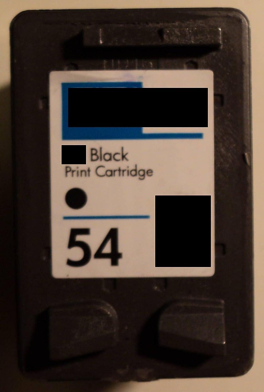 Cartuchos de tinta de 54 de color negro HP impresora * CB334AE ...