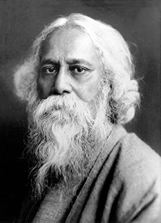 Portrait Of Gurudev Rabindranath Tagore - Premium Quality Poster (12 x 17  inches) For Home And Office Décor by Tallenge: Amazon.in: Electronics