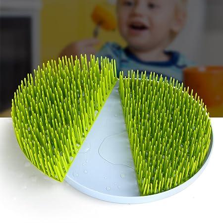 Pelouse Séchage Rack Bouteille Bébé Plat Rack herbe pour bébé plat bec CUTLERY Holder