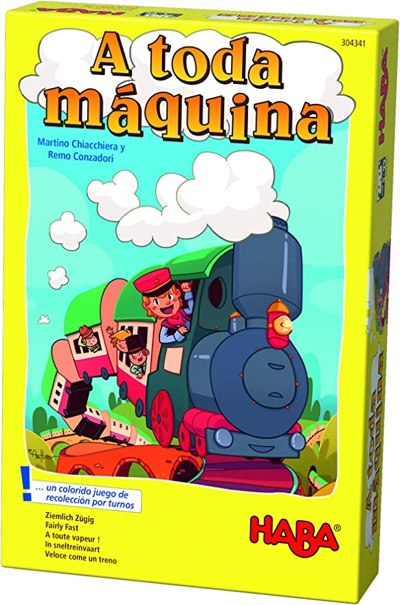 HABA- Juego de Mesa, ¡A Toda Máquina (Habermass H304341): Amazon ...