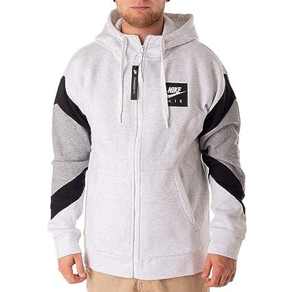 TEAM CLUB 19 Full Zip Hoodie dark grey heather