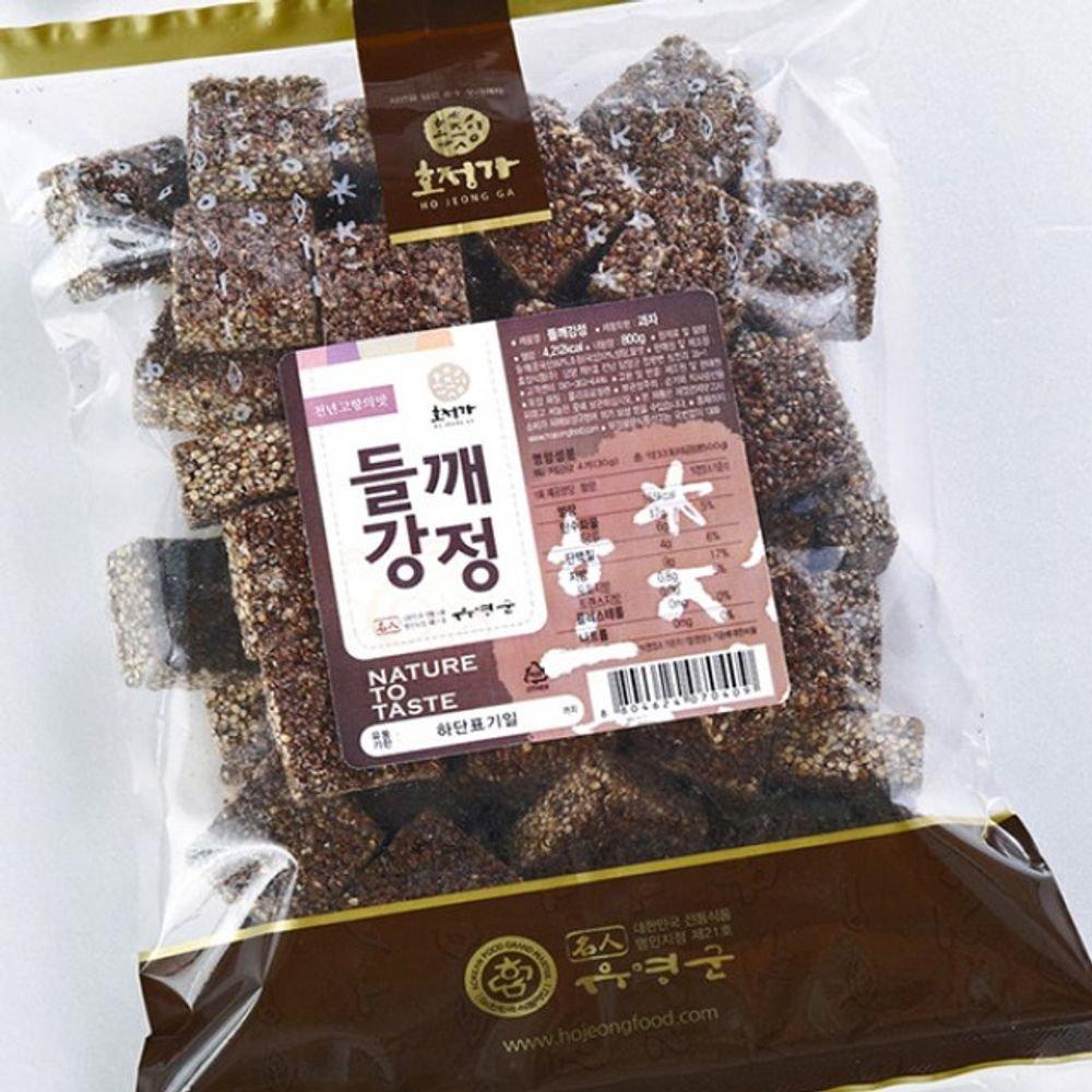 Changpyeong Sesame Crunch Snack(500G)