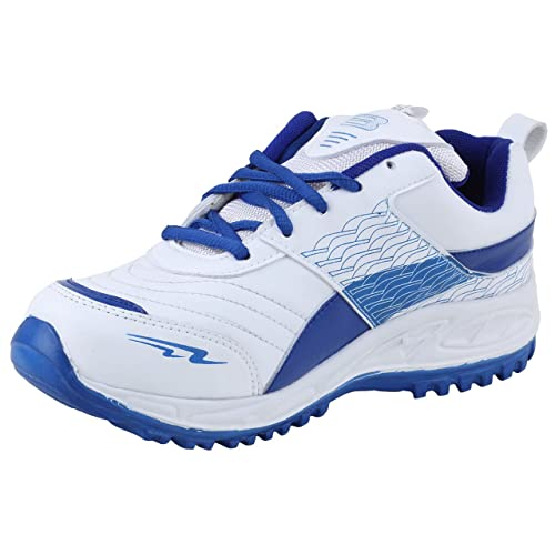 Men's Royal Blue Synthetic Running Shoes - 10