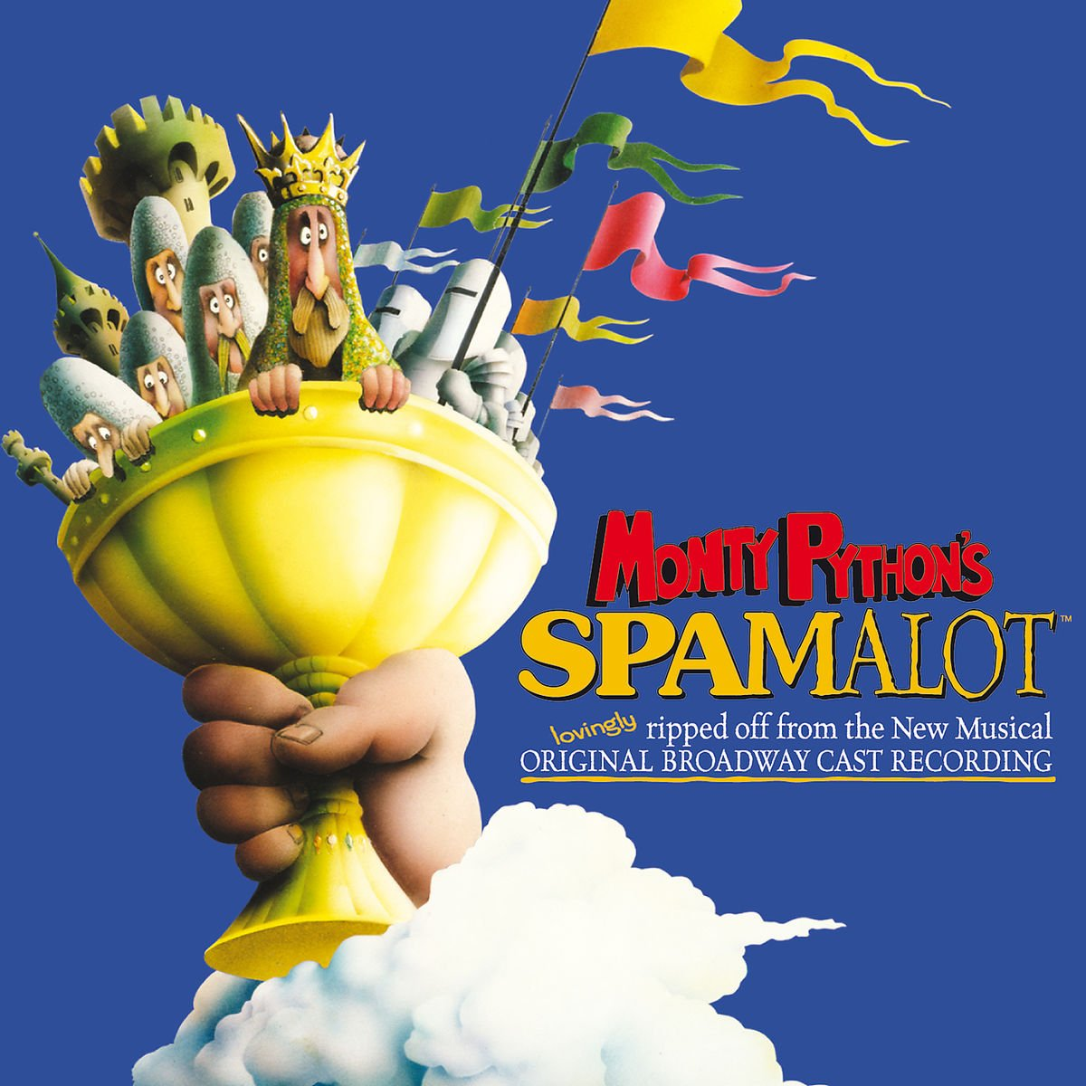 ... Christopher Sieber, Michael McGrath, Steve Rosen, Christian Borle -  Monty Python's Spamalot (2005 Original Broadway Cast) - Amazon.com Music