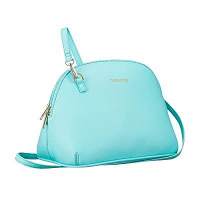 Corkcicle Lunch Box - Adair Crossbody, Turquoise: Kitchen & Dining