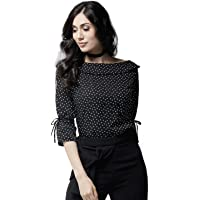 Istyle Can Women's Polka dot Regular fit Top